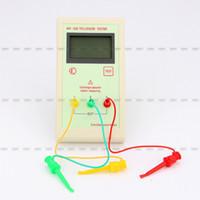Wholesale Transistor Tester Inductance - Wholesale-2015 NEW arrival !!!Transistor Tester Capacitor ESR Inductance Resistor Meter LCR NPN PNP MOS