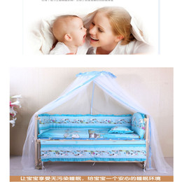 Wholesale Wholesale French Beds - Wholesale-Baby child kids mosquito net French general royal Dome Elegent Lace Bed Netting Canopy indoor outdoor net