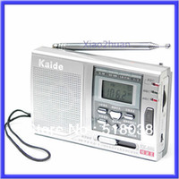 Wholesale Radio Receiver Sw - Wholesale--S72Free Shipping AM FM SW 10 Band Shortwave Radio Receiver Alarm Clock N