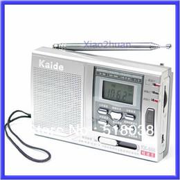 ricevitori a corto raggio Sconti Commercio all'ingrosso - S72Free Spedizione AM FM SW Allarme 10 bande radio ad onde corte Receiver Clock N
