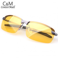 gafas antideslumbrantes al por mayor-Al por mayor-Marca Nueva Noche Gafas de conducción antideslumbrante Visión de seguridad del conductor gafas de sol deportivas SV14