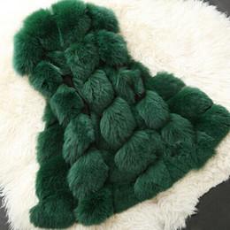 Wholesale Faux Fur Vests For Women - Wholesale-Practical New Brand Women Faux Fur Coats Winter Sleeveless Vest For Women Plus Size Fashion Outwears Women Clothing 6 Colors