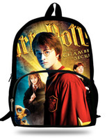 Wholesale inch Mochila Harry Potter Backpack Teenagers D Children School Bags For Boys Casual Daypack Harry Potter Bag Kids Girls