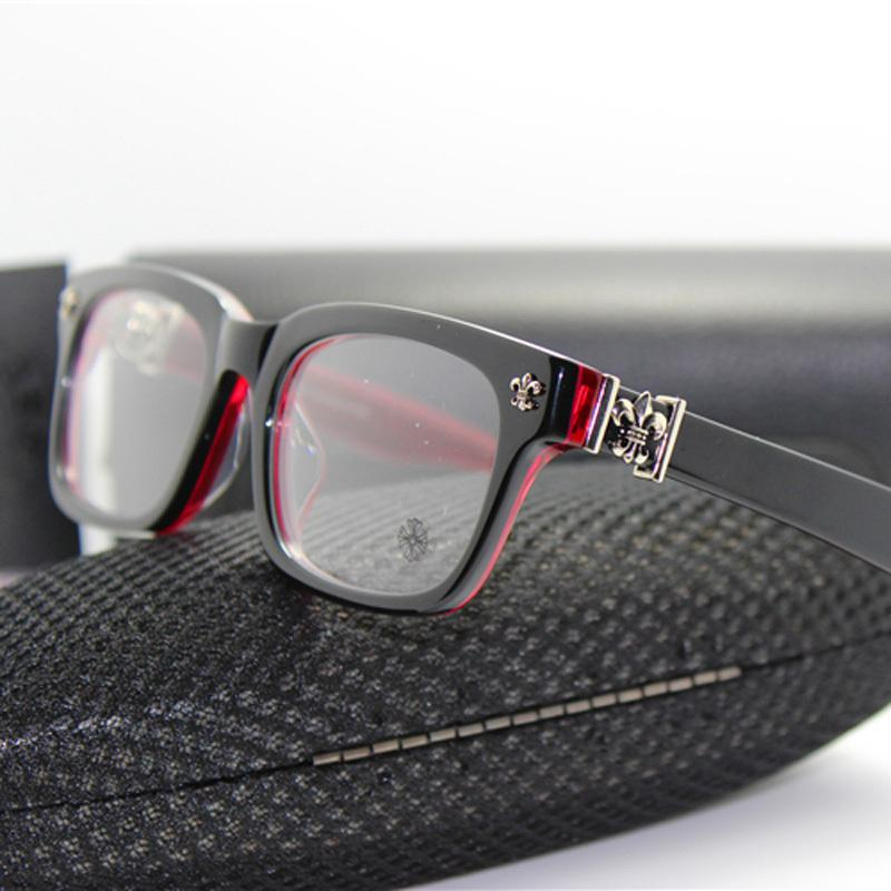 14e86522761 2019 Wholesale HOT SELL Brand Designers Chromehearts Men Women Vintage  Silver Jewelery GITTINANY Glasses Frame Fashion Eyeglasses Frame From  Chikui