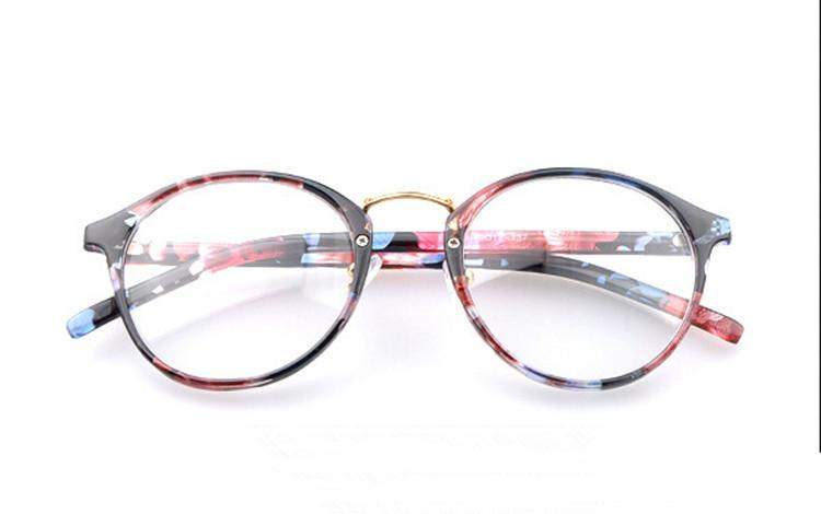 2018 Wholesale Round Eyes Glasses Frame Men Women Computer Vintage