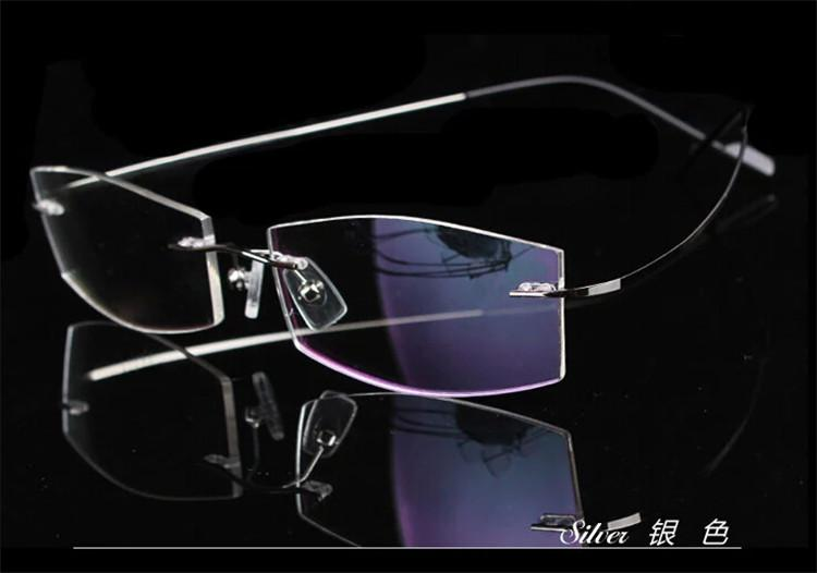 6d4836c3557 2019 Wholesale Rimless Non Screw Memory 100% Titanium Hingeless Flexible Eyeglasses  Glasses Prescription Rx Spectacle Optical Frame Oculos From Chikui