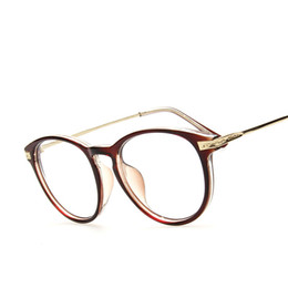 Wholesale Hipster Nerd - Wholesale-New Style Unisex Hipster Vintage Retro Classic Half Frame Glasses Clear Lens Nerd Eyewear oculos de grau Computer glasses
