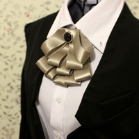 cravate à manches longues achat en gros de-Gros-Mode hommes hommes noeud papillon cravate bowtie blazer outerwear costumes doux accessoires de mariage livraison gratuite