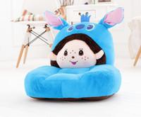 Wholesale Nursery Chairs - Wholesale-High Quality Children Sofa Baby Nursery Sofa Small Sofa Chair Present For Boy Girl Cartoon Sofa Free Shipping