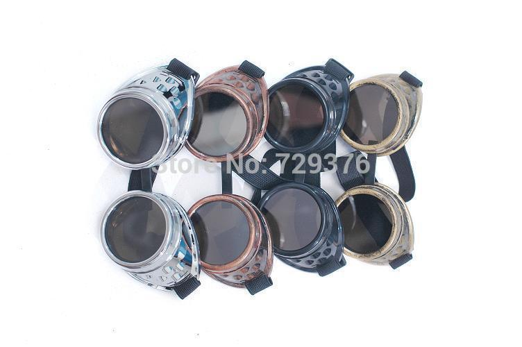 Wholesale Hot Sale 2015 Steampunk Goggles Glasses Round ...
