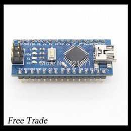Wholesale Free Usb Driver - Wholesale-Free Shipping,1PCS Nano 3.0 controller compatible with nano CH340 USB driver NO CABLE for Arduino NANO V3.0