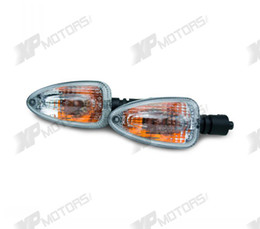 Wholesale Bmw Turn Signal Light - Wholesale-New arrived Turn Signal Indicator Light For BMW F650GS F850GS 2008 2009 2010 2011 2015 Clear Lens