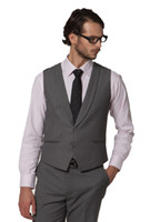 Wholesale Men Satin Waistcoat - Wholesale-Waistcoat for men with Satin Collar Border