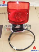 Wholesale Suzuki Gn - Wholesale-NEW FREE SHIPPING SUZUKI GN250 GN 250 TAIL LIGHT   LAMP REAR LIGHT   BRAKE LAMP UNIT COMPLETE OEM QUALITY