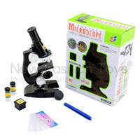 2015 Vente en gros laboratoire Microscope Toy New Education Kit Student Enfants Chemical Science