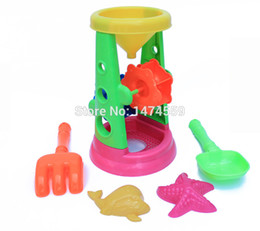 Wholesale Child Boy Model Beach - Wholesale-simulation toys maintenance tools beach toys for boys and girls the hourglass Children play toys