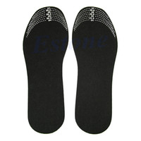 Wholesale Healthy Charcoal - Wholesale-5Pair Lot Scalable Unisex Healthy Bamboo Charcoal Deodorant Insoles Mat Shoe Pads Free Shipping