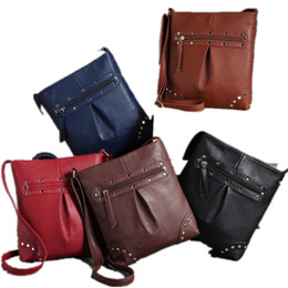Wholesale Wholesale Satchels - Wholesale-2015 New Arrival Bag Women Handbag PU Leather Satchel Cross Body Shoulder Messenger Bags bolsas