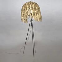 fishnet fabric floor lamp modern decortive floor lamp simple fashion floor lamp ikea studay fishnet fabric floor lamp