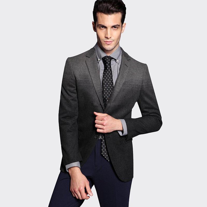 2669a40624eff Compre Venta Al Por Mayor 2015 De Moda De Estilo Plano Vestido De Caballero  Negro Vestido De Los Hombres De Baile Trajes De Boda Para Los Hombres Traje  A ...