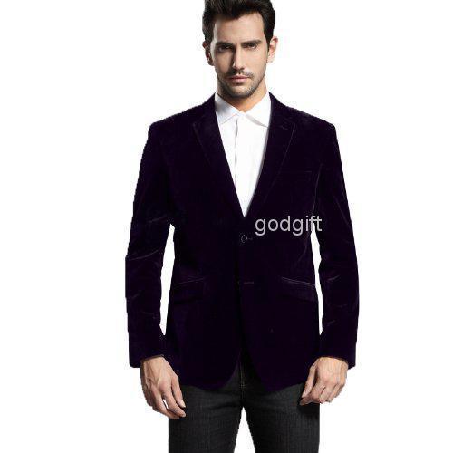 Wholesale-2015 sale Fashion Tuxedos Gentleman Black men's dress prom wedding suits for men groom suit