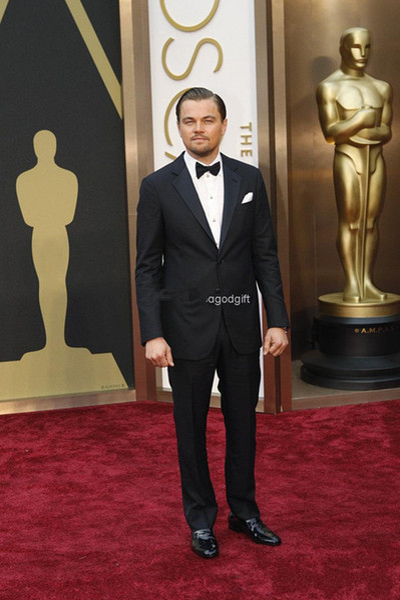 Wholesale-2015 Fashion Flat-style dress Gentleman Black men's dress Notch prom wedding suits for men wedding suits