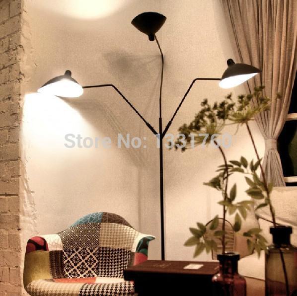 Großhandel Großhandels Serge Mouille Pole Stehlampe Modernes Design  Beleuchtung Frankreich Klassik Lampen Für Wohnzimmer Schlafzimmer Lesesaal  Bodenleuchten ...