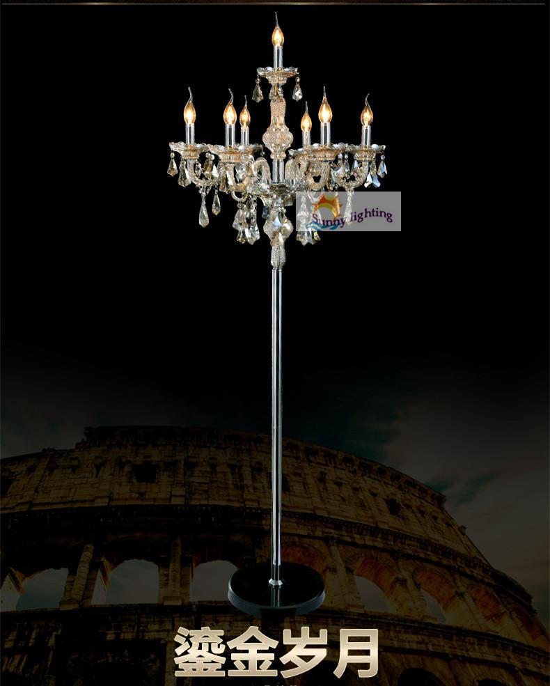 2018 wholesale italy vintage floor lamps bedroom cognac crystal 2018 wholesale italy vintage floor lamps bedroom cognac crystal floor light with lampshade contemporary floor lights marrige led candle holder from johnon mozeypictures Choice Image