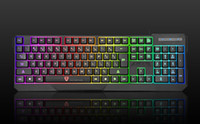 Wholesale Wired Backlit Keyboard - Wholesale-MOTOSPEED K70 Rainbow Color LED Backlit USB Wired Waterproof Gaming Keyboard