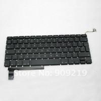 "Wholesale Macbook Keyboard Uk - Wholesale-Original New UK Keyboard for 15"" Macbook Pro A1286 MC374 MB985 MC721 MC723"