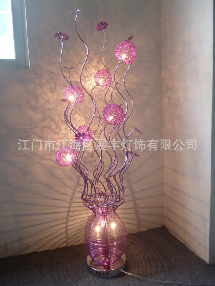 2018 Wholesale Aluminium Lava Lamp Floor Lamp, Environmental Protection  Craft Lamp, Creative Flower Bas Craft Lamp From Johnon, $197.55 | Dhgate.Com