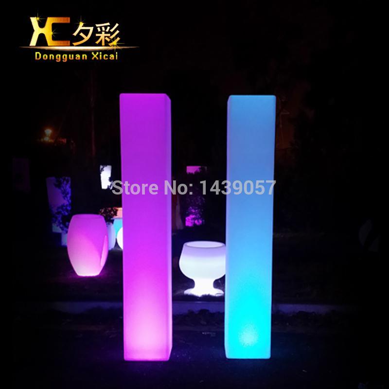 2018 Wholesale Led Floor Lamp Luminous Color Changing Decoration ...