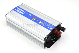 Wholesale Car Power Supply Ac Dc - Wholesale-Starnill Car inverter 1500W DC 12 v to AC 220 v vehicle power supply switch on-board charger car inverter