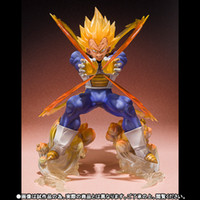Expédition action gros-2015 16cm Anime Dragon Ball Z Dragonball Vegeta Super Saiyan Bataille Etat Final Flash PVC Figure modèle de jouet gratuit