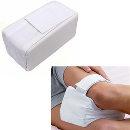 Wholesale Foam Elbow Pads - Wholesale-Sport Foam Kneecap Elbow Knee Protect Football Basketball Runner Strap Pad Pillow Cushion Sleeping Comforts Bed Leg Pain relief