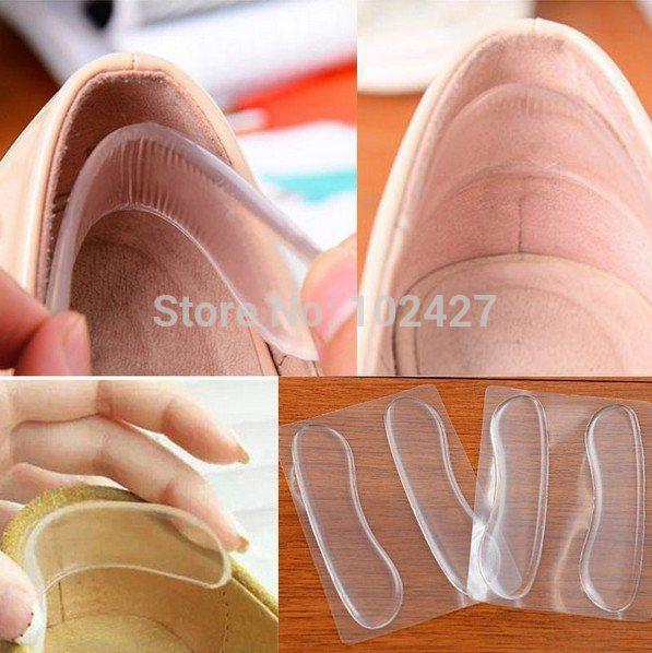 Toptan-Ücretsiz Kargo 12 pairs Toptan Topuklar Arka Yastık Yüksek Dans Ayakkabıları Astarı Ayak Koruma Silikon Yapıştırın Ayak Pedi