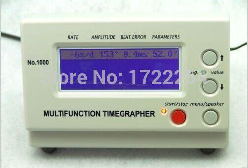 Wholesale-Free shipping Multifunction Timegrapher NO.1000 Watch Timing Machine Calibration Tools