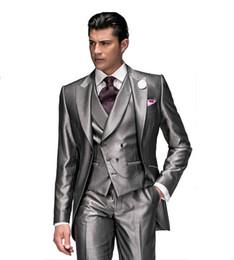 Discount Light Grey Suit Purple Tie | 2017 Light Grey Suit Purple ...