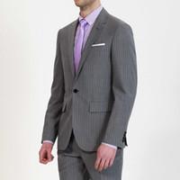 Wholesale Men S Dress Pant 42 - Wholesale-High quality men's brand suit Set New style groom business suits men wedding Dress Suit sets,jackets + pants+tie