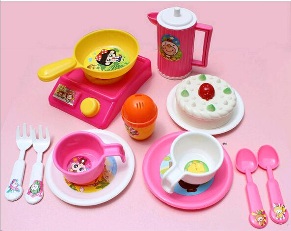 Kids Kitchen Accessories >> 2019 Wholesale 2 5 Years Girls Baby Plastic Cheap Toys Kitchen Accessories Brinquedos Meninas Pot And Pans For Kids Kitchen Play Set From Kltao01