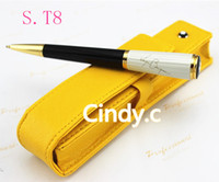 Wholesale Stainless Steel Ball Pens - Wholesale-Copernicus limited edition series Thomas roller ball pen  Ballpoint Pen with silver clip Luxury stationery executive writing pen