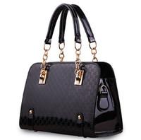 Wholesale Handbag Brand Pink - Wholesale-Pochette Women Leather Handbag Sac A Main Bolsas Femininas Couro Lady Single Designer Shoulder Bags Handbags Women Famous Brands