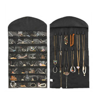 Wholesale Dress Hanging Jewelry Organizer - Wholesale-New Hanging Jewelry Organizer Storage Closet Dress 32 Pocket Holder Display Bag