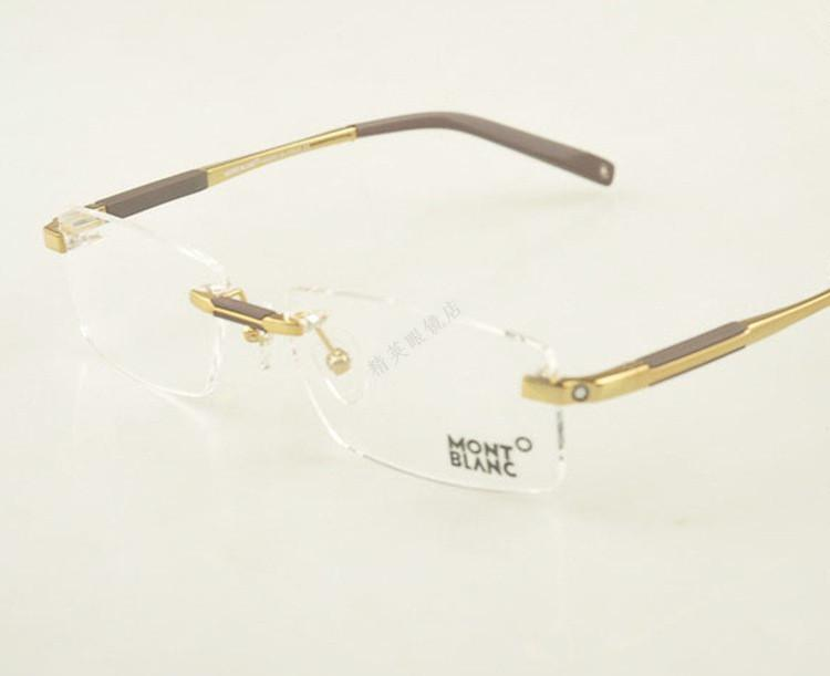 682a1530161 2019 Wholesale 100% Pure Titan Eyeglasses Silver Gun Gray Gold Top Quality  Gafas Men Titanium Glasses Frame Brand Optical Glasses From Linita