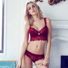 7995c887f1f6f China Wholesale- NEW Stylish Plus Size Lace Bra Set Women Push Up BRA Sexy  Lingerie
