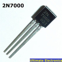 Wholesale N Mosfet - Wholesale-20pcs 2N7000 TO-92 N-Channel MOSFET Transistor