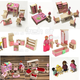wholesale wooden doll dinning house furniture. fine doll wholesale wooden doll dinning house furniture wholesalepink dolls  furniture miniature 6 room set throughout wholesale wooden doll dinning house furniture