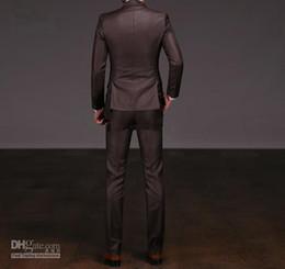 Wholesale S Advanced - Wholesale-custom made Advanced Custom many suits wedding suits groom (Jacket+Pants+Tie+Vest)