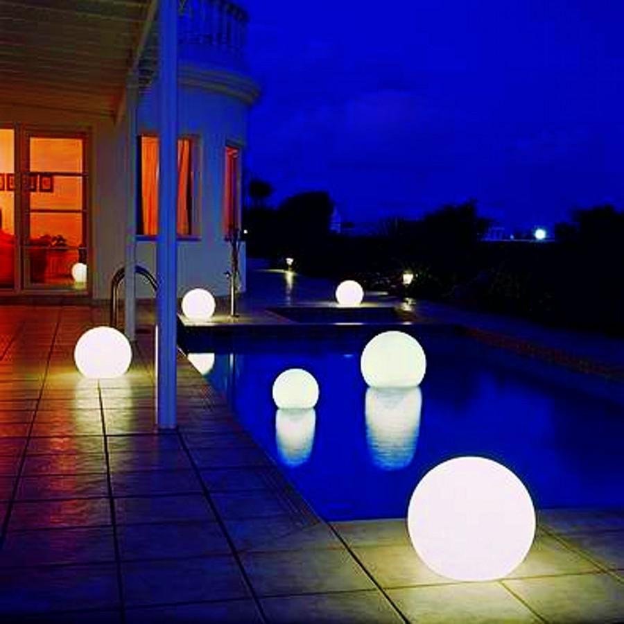 Outdoor modern floor lamp - Online Cheap Wholesale Creative Floor Lamp Outdoor Waterproof Led Ball Lamp Electronic Ball Lights Christmas Ball Lights By Roberte Dhgate Com