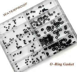 Tamanhos de vedação on-line-Atacado-10 Tamanho Rubber Watch O-Ring GASKET definido para o relógio Crown Peças de relógios à prova d'água Relojoeiro Repair Set Tool Kit